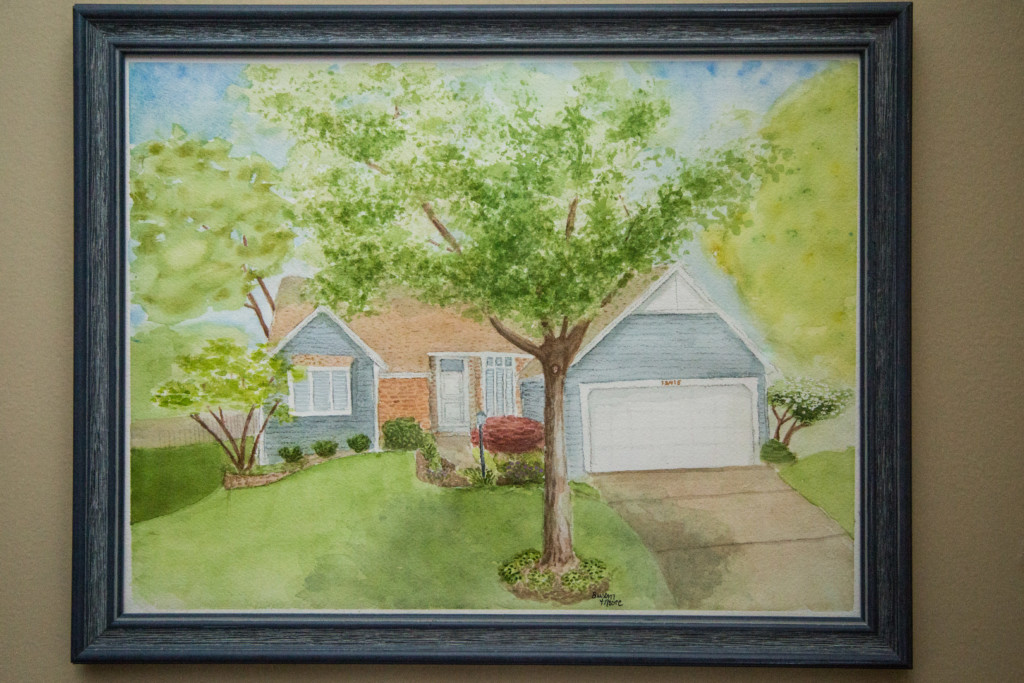 my parent's house portrait