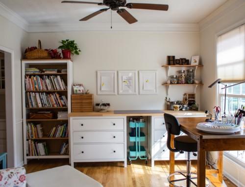 My new sunny studio!