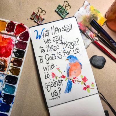 Bluebird Romans 8:31
